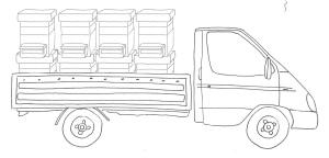 furgoncino miele_con arnie
